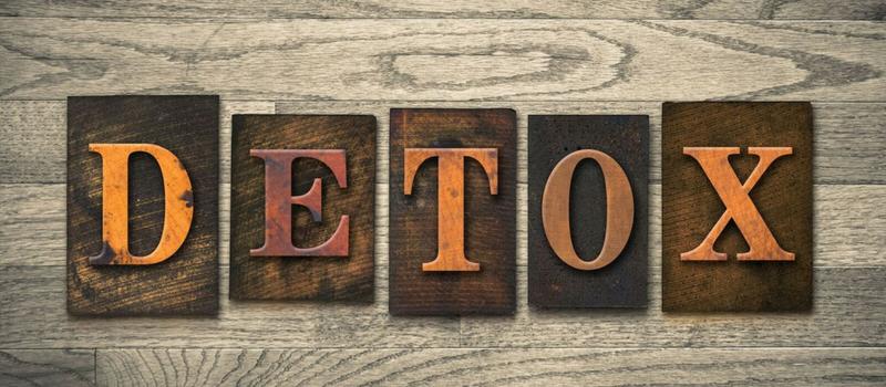 Detox udrensning af affaldsstoffer i kroppen