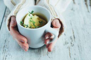 Detox tips - kogt vand med citron