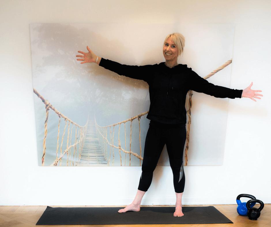 Slankehold i Odense - personlig træner og yogainstruktør Susanne Jensen på Fyn