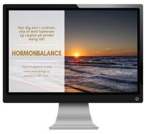 Hormonbalance online slankekursus
