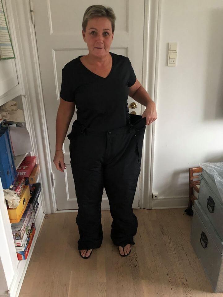 Lotte fik sin drømmevægt og vinkede farvel til 41 kilo