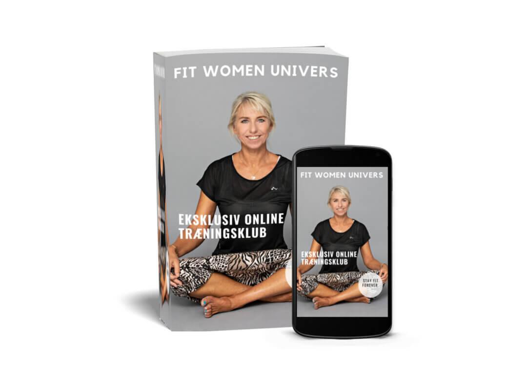Stressfri yoga i min online træningsklub Fit Women
