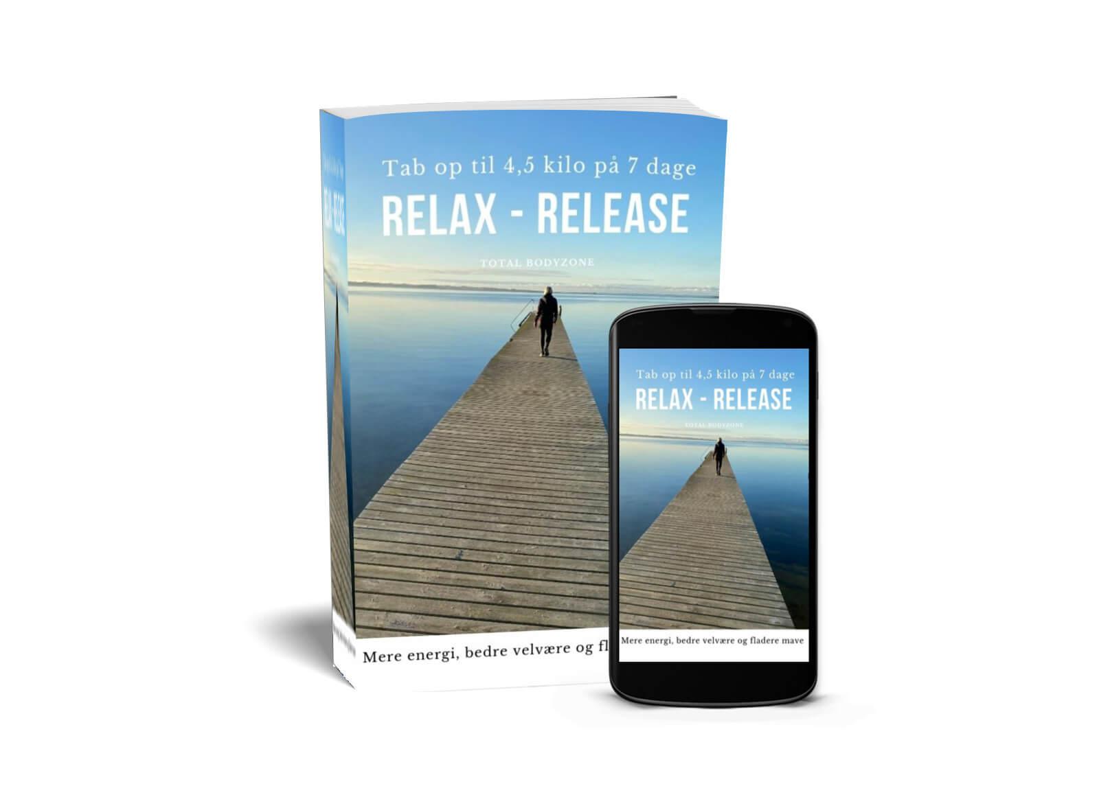 Relax - Realase - Får mere energi, fladere mave og mærk hvor skønt du kan få det på kun 7 dage, selvom du er i overgangsalderen